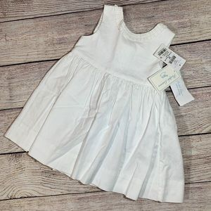 NWT! Ralph Lauren White Buttoned Baby Gown 9 Month